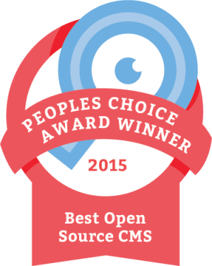 2015 best open source cms award winner - django CMS