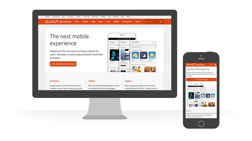 Canonical, the company behind Ubuntu, has used many popular content management systems for different purposes. For a recent major project, Ubuntu Developer Portal