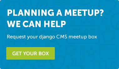 Request django CMS meetup box